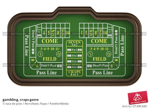 Купить «gambling, craps game», фото № 27695642, снято 27 июня 2019 г. (c) PantherMedia / Фотобанк Лори