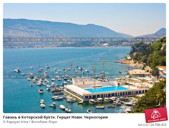 Герцег нови черногория карта на русском