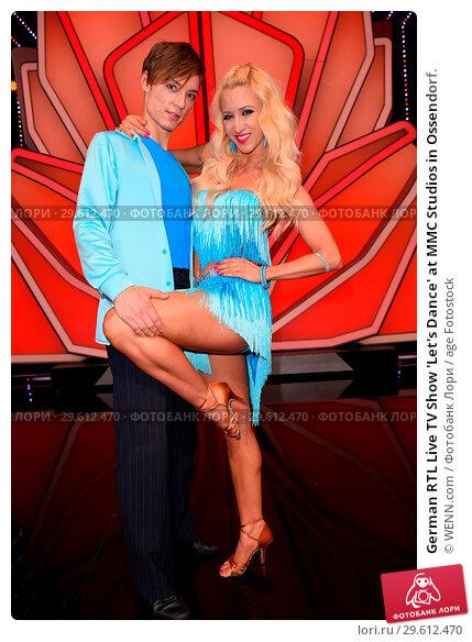 Купить «German RTL Live TV Show 'Let's Dance' at MMC Studios in Ossendorf. Featuring: Heiko Lochmann (Die Lochis), Kathrin Menzinger Where: Cologne, Germany When: 16 Mar 2018 Credit: WENN.com», фото № 29612470, снято 16 марта 2018 г. (c) age Fotostock / Фотобанк Лори