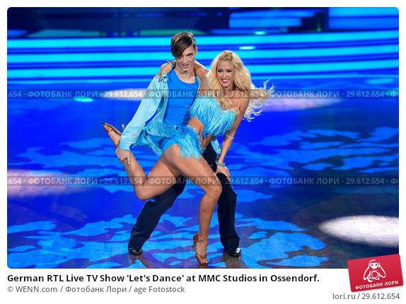 Купить «German RTL Live TV Show 'Let's Dance' at MMC Studios in Ossendorf. Featuring: Heiko Lochmann (Die Lochis), Kathrin Menzinger Where: Cologne, Germany When: 16 Mar 2018 Credit: WENN.com», фото № 29612654, снято 16 марта 2018 г. (c) age Fotostock / Фотобанк Лори