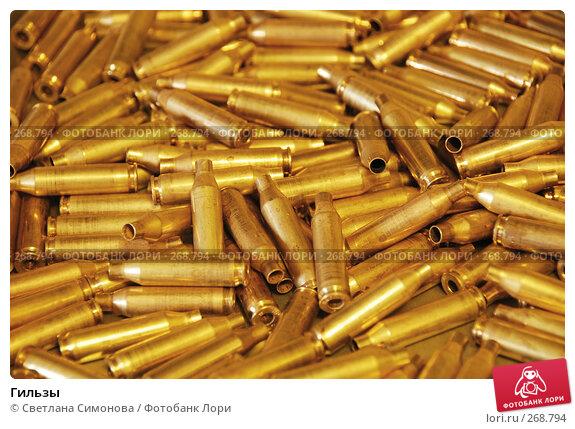 Купить «Гильзы», фото № 268794, снято 1 мая 2008 г. (c) Светлана Симонова / Фотобанк Лори