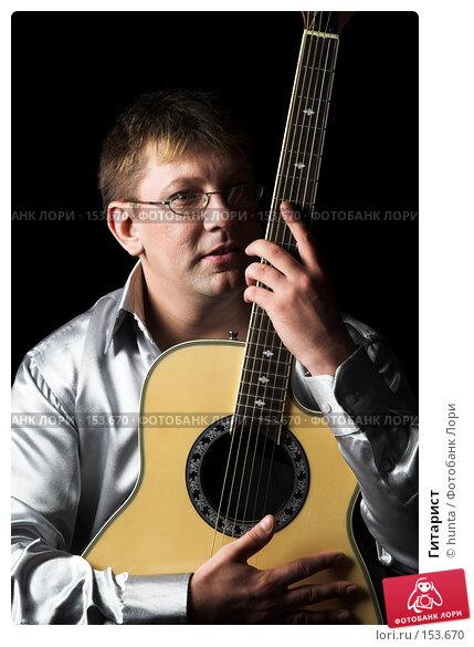 Гитарист, фото № 153670, снято 5 августа 2007 г. (c) hunta / Фотобанк Лори