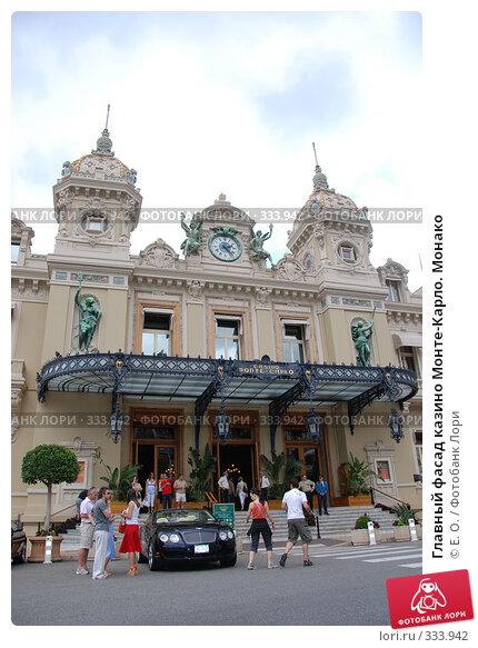 Главный фасад казино Монте-Карло. Монако, фото № 333942, снято 14 июня 2008 г. (c) Екатерина Овсянникова / Фотобанк Лори