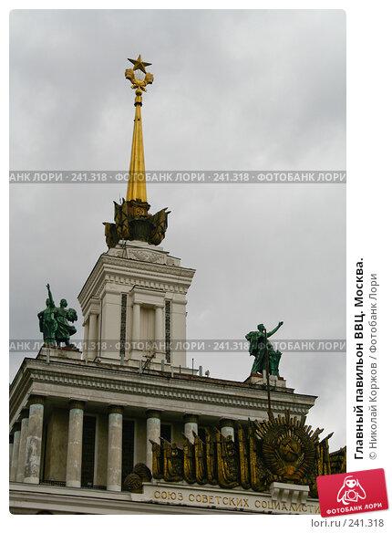 Главный павильон ВВЦ. Москва., фото № 241318, снято 16 марта 2008 г. (c) Николай Коржов / Фотобанк Лори