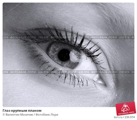 Купить «Глаз крупным планом», фото № 230974, снято 28 июня 2007 г. (c) Валентин Мосичев / Фотобанк Лори