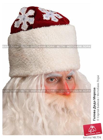 Голова Деда Мороза, фото № 48774, снято 23 октября 2005 г. (c) Сергей Байков / Фотобанк Лори