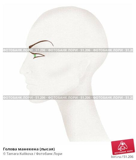 Купить «Голова манекена (лысая)», иллюстрация № 51206 (c) Tamara Kulikova / Фотобанк Лори