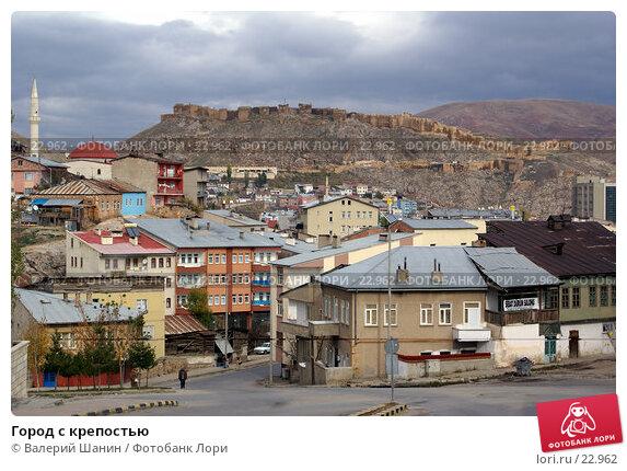 Купить «Город с крепостью», фото № 22962, снято 28 октября 2006 г. (c) Валерий Шанин / Фотобанк Лори