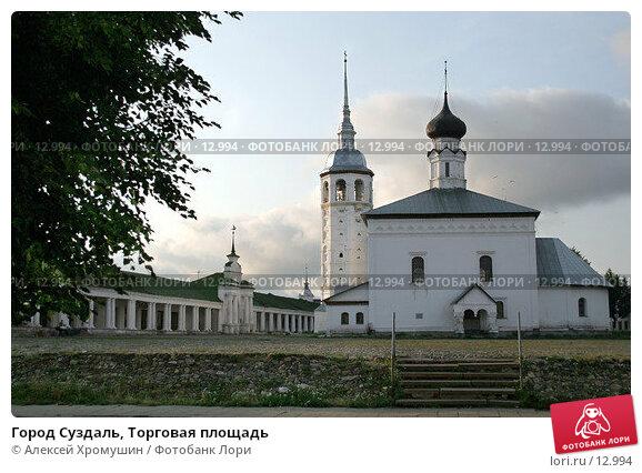 Город Суздаль, Торговая площадь, фото № 12994, снято 24 июля 2017 г. (c) Алексей Хромушин / Фотобанк Лори