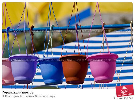 Купить «Горшки для цветов», фото № 230062, снято 28 августа 2005 г. (c) Кравецкий Геннадий / Фотобанк Лори