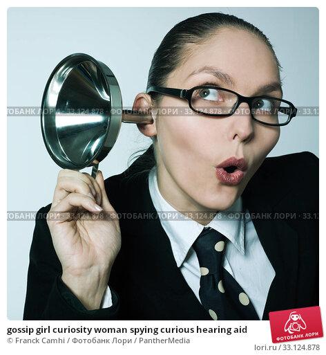 Купить «gossip girl curiosity woman spying curious hearing aid», фото № 33124878, снято 4 апреля 2020 г. (c) PantherMedia / Фотобанк Лори