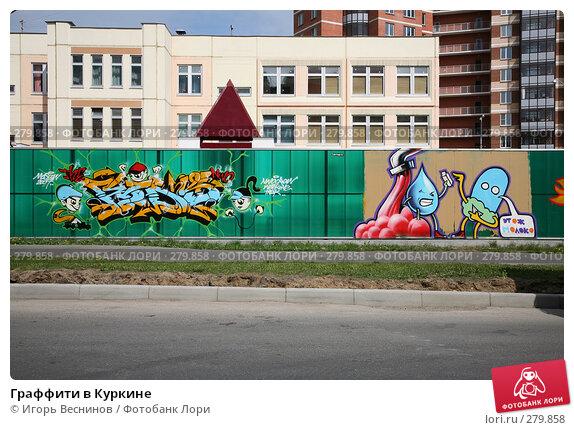 Граффити в Куркине, фото № 279858, снято 10 мая 2008 г. (c) Игорь Веснинов / Фотобанк Лори