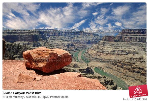 Grand Canyon West Rim. Стоковое фото, фотограф Brett Mulcahy / PantherMedia / Фотобанк Лори
