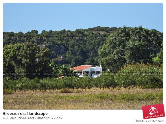 Купить «Greece, rural landscape», фото № 28426526, снято 2 октября 2013 г. (c) Знаменский Олег / Фотобанк Лори
