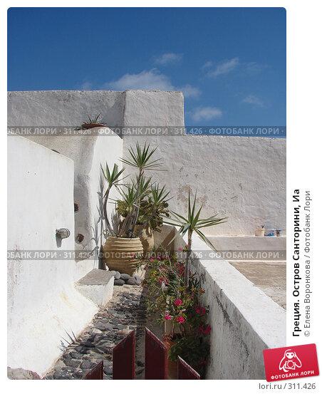 Греция. Остров Санторини, Иа, фото № 311426, снято 29 июня 2006 г. (c) Елена Воронкова / Фотобанк Лори