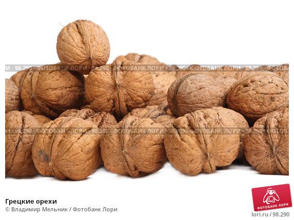 Грецкие орехи, фото № 98290, снято 11 октября 2007 г. (c) Владимир Мельник / Фотобанк Лори