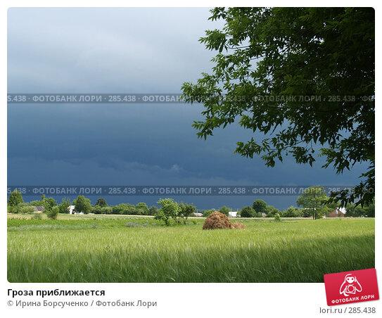 Гроза приближается, фото № 285438, снято 17 июня 2007 г. (c) Ирина Борсученко / Фотобанк Лори