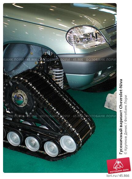 Гусеничный вариант Chevrolet-Niva, фото № 45866, снято 18 апреля 2007 г. (c) Крупнов Денис / Фотобанк Лори