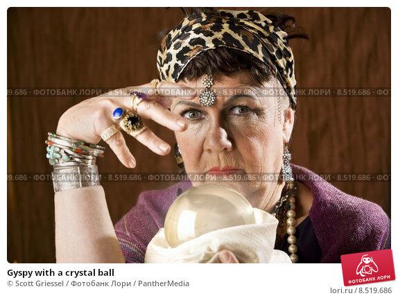 Купить «Gyspy with a crystal ball», фото № 8519686, снято 10 июня 2019 г. (c) PantherMedia / Фотобанк Лори