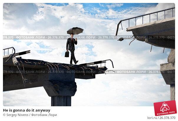 Купить «He is gonna do it anyway», фото № 26378370, снято 23 апреля 2019 г. (c) Sergey Nivens / Фотобанк Лори