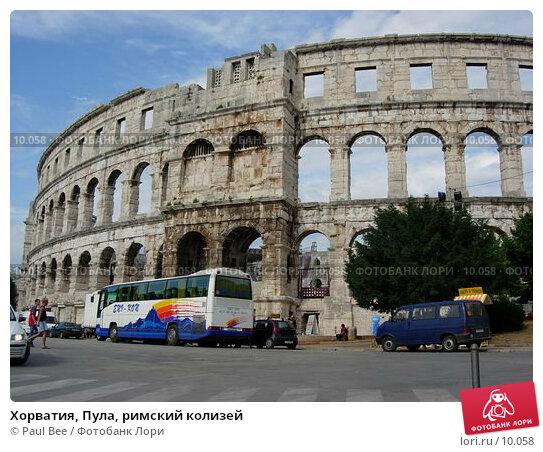 Купить «Хорватия, Пула, римский колизей», фото № 10058, снято 7 июля 2006 г. (c) Paul Bee / Фотобанк Лори