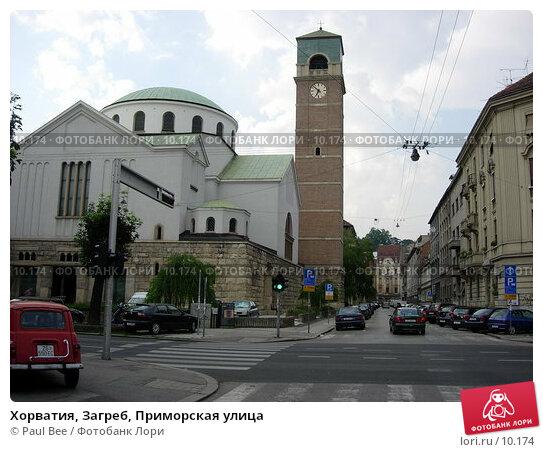 Купить «Хорватия, Загреб, Приморская улица», фото № 10174, снято 9 июля 2006 г. (c) Paul Bee / Фотобанк Лори