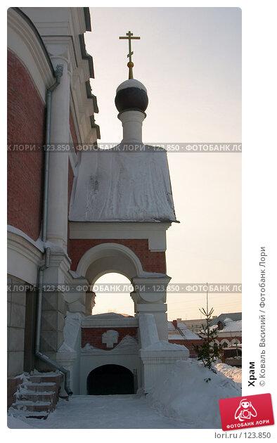 Храм, фото № 123850, снято 12 февраля 2006 г. (c) Коваль Василий / Фотобанк Лори