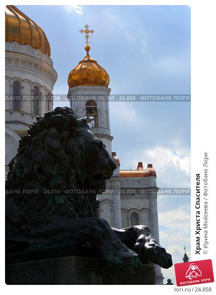 Храм Христа Спасителя, эксклюзивное фото № 24858, снято 28 мая 2005 г. (c) Ирина Мойсеева / Фотобанк Лори