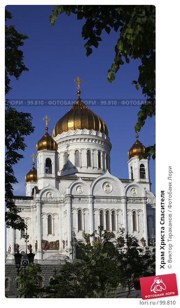 Купить «Храм Христа Спасителя», эксклюзивное фото № 99810, снято 15 июня 2006 г. (c) Виктор Тараканов / Фотобанк Лори