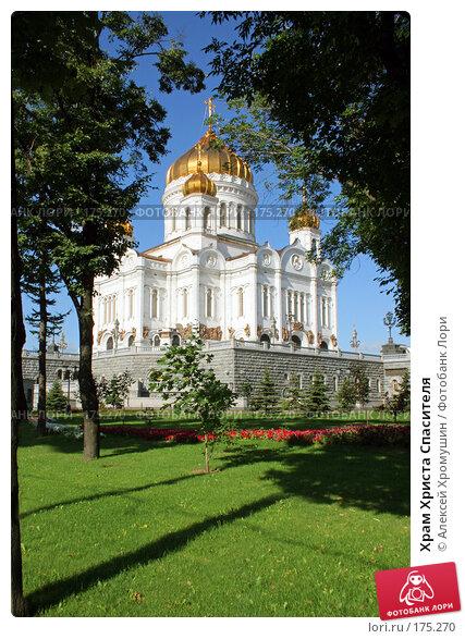 Храм Христа Спасителя, фото № 175270, снято 4 августа 2005 г. (c) Алексей Хромушин / Фотобанк Лори