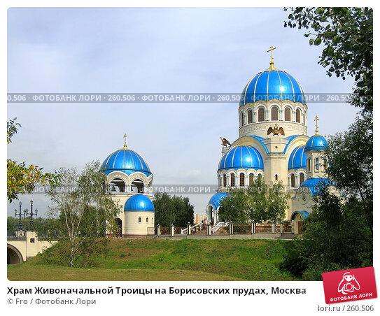 Храм Живоначальной Троицы на Борисовских прудах, Москва, фото № 260506, снято 4 сентября 2005 г. (c) Fro / Фотобанк Лори