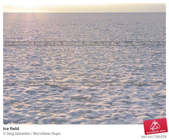 Ice field, фото № 130074, снято 29 ноября 2004 г. (c) Serg Zastavkin / Фотобанк Лори
