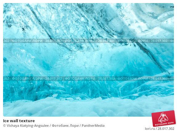 Купить «Ice wall texture», фото № 28017302, снято 20 апреля 2019 г. (c) PantherMedia / Фотобанк Лори