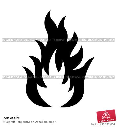 Купить «Icon of fire», иллюстрация № 30242054 (c) Сергей Лаврентьев / Фотобанк Лори