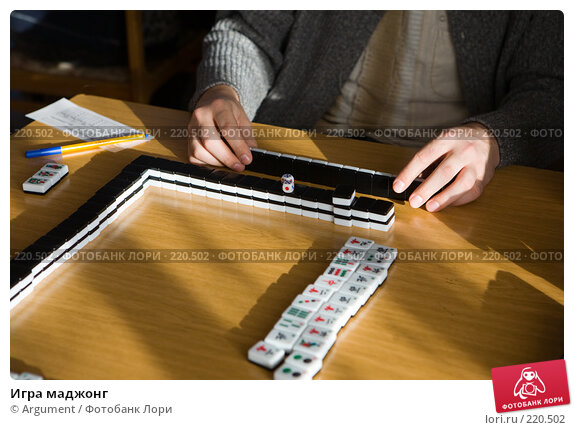 Игра маджонг, фото № 220502, снято 23 февраля 2008 г. (c) Argument / Фотобанк Лори