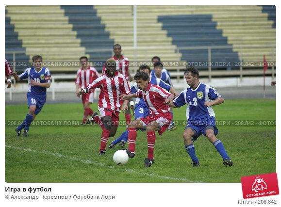 Игра в футбол, фото № 208842, снято 9 сентября 2001 г. (c) Александр Черемнов / Фотобанк Лори