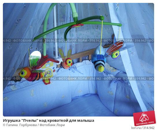 """Игрушка """"Пчелы"""" над кроваткой для малыша, фото № 314942, снято 6 июня 2007 г. (c) Галина  Горбунова / Фотобанк Лори"""