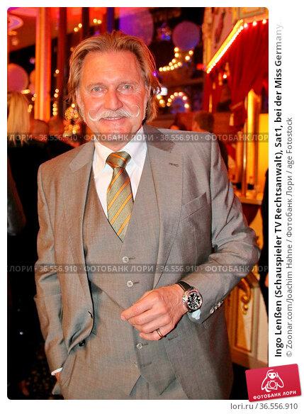 Ingo Lenßen (Schauspieler TV Rechtsanwalt), Sat1, bei der Miss Germany... Стоковое фото, фотограф Zoonar.com/Joachim Hahne / age Fotostock / Фотобанк Лори