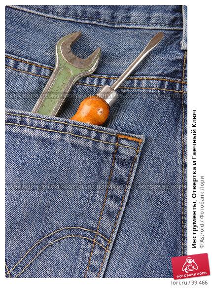 Инструменты, Отвертка и Гаечный Ключ, фото № 99466, снято 5 января 2007 г. (c) Astroid / Фотобанк Лори