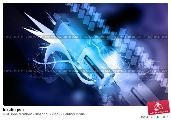 Insulin pen. Стоковое фото, фотограф krishna creations / PantherMedia / Фотобанк Лори