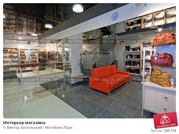 Купить «Интерьер магазина», фото № 289158, снято 17 августа 2007 г. (c) Виктор Застольский / Фотобанк Лори