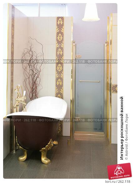 Интерьер роскошной ванной, фото № 262118, снято 22 апреля 2008 г. (c) Astroid / Фотобанк Лори
