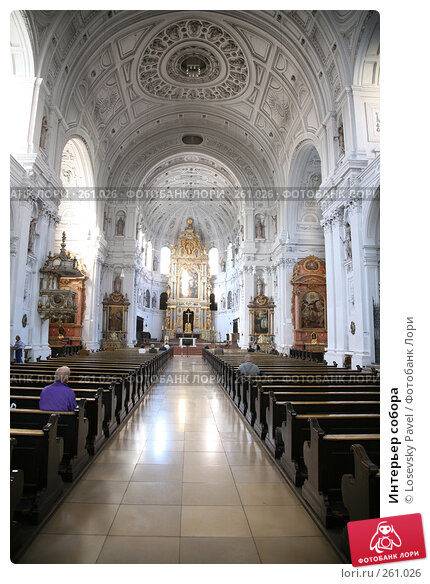 Интерьер собора, фото № 261026, снято 30 мая 2017 г. (c) Losevsky Pavel / Фотобанк Лори