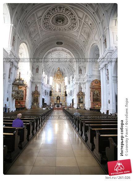 Интерьер собора, фото № 261026, снято 25 марта 2017 г. (c) Losevsky Pavel / Фотобанк Лори