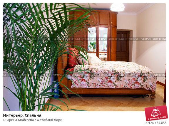 Интерьер. Спальня., фото № 54858, снято 18 января 2007 г. (c) Ирина Мойсеева / Фотобанк Лори