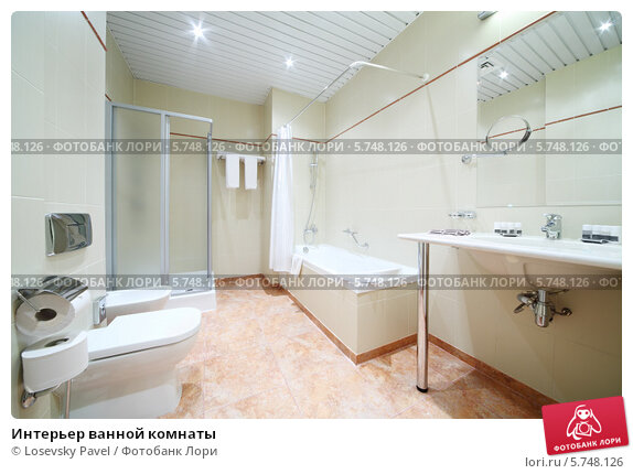 Купить «Интерьер ванной комнаты», фото № 5748126, снято 25 января 2013 г. (c) Losevsky Pavel / Фотобанк Лори
