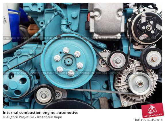 Internal combustion engine automotive. Стоковое фото, фотограф Андрей Радченко / Фотобанк Лори