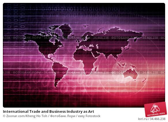 International Trade and Business Industry as Art. Стоковое фото, фотограф Zoonar.com/Kheng Ho Toh / easy Fotostock / Фотобанк Лори