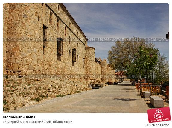 Испания: Авила, фото № 319986, снято 26 апреля 2008 г. (c) Андрей Каплановский / Фотобанк Лори
