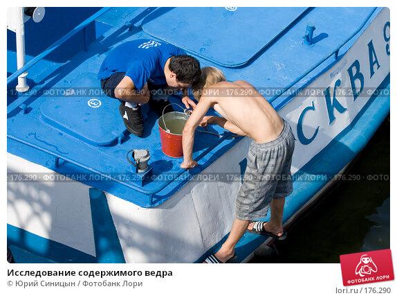 Исследование содержимого ведра, фото № 176290, снято 24 августа 2007 г. (c) Юрий Синицын / Фотобанк Лори